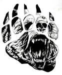 Bear Paw Tattoo