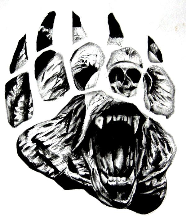 Bear Paw Tattoo by BlackCrow907 on DeviantArt