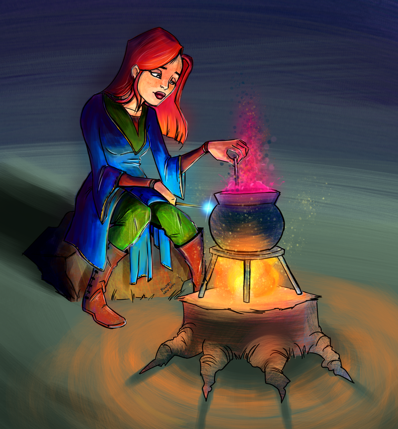 Young Alchemist by Milsey1982 on DeviantArt