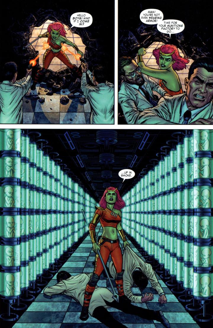 She Hulk / Hulk Family page 5 - Benton Jew by bentonjew