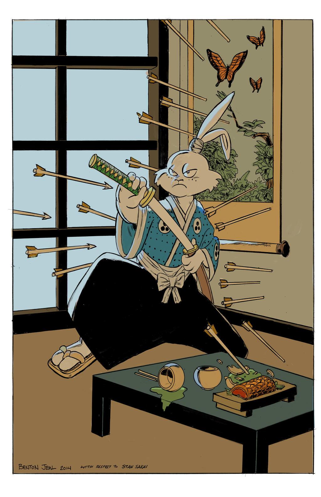 Usagi Yojimbo-Benton Jew