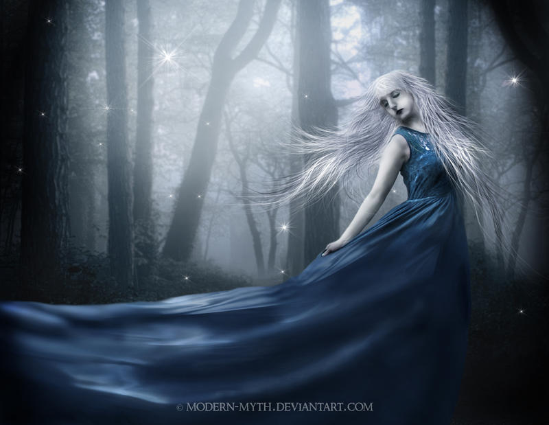 Forest lady by modern-myth