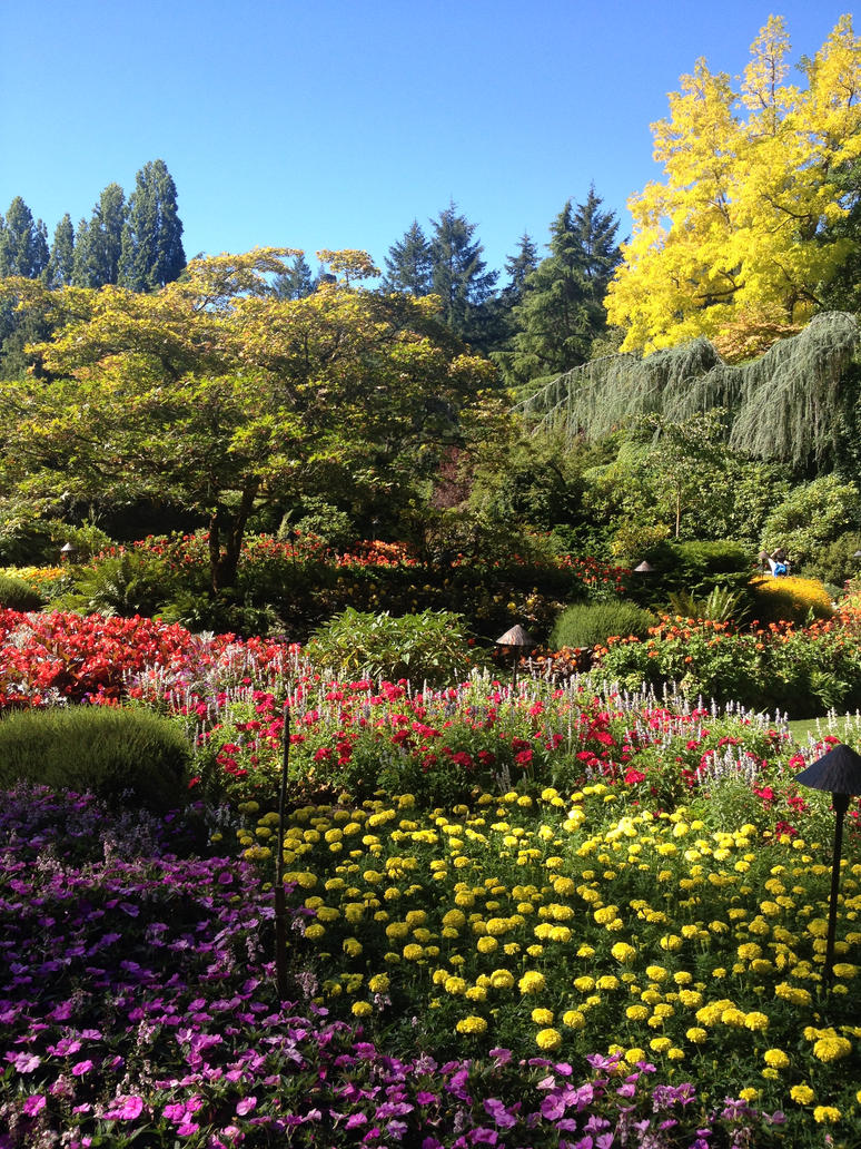 Butchart Gardens Quarry Area 3 by estump on DeviantArt