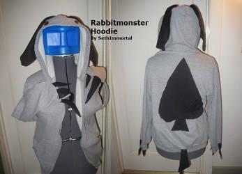Rabbit Monster Hoodie by SethImmortal