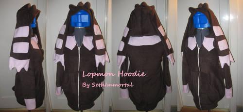 Lopmon Hoodie by SethImmortal