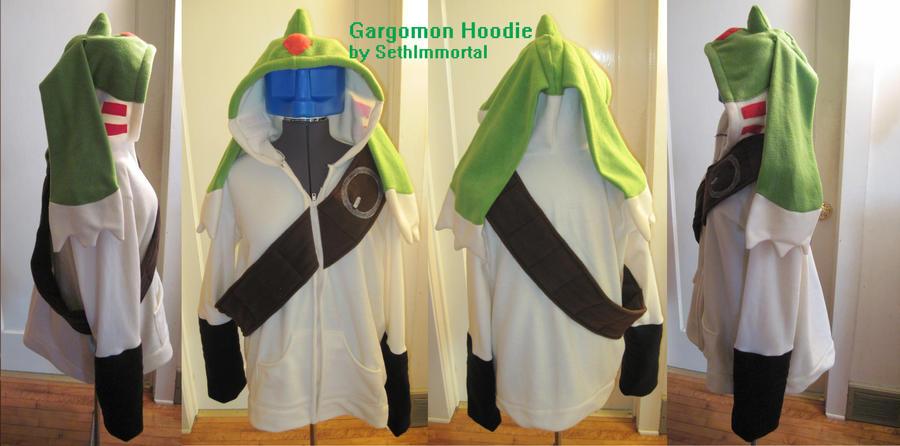 Gargomon Hoodie by SethImmortal