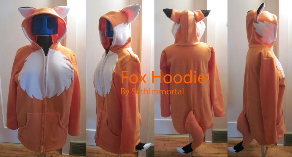 Fox Hoodie by SethImmortal