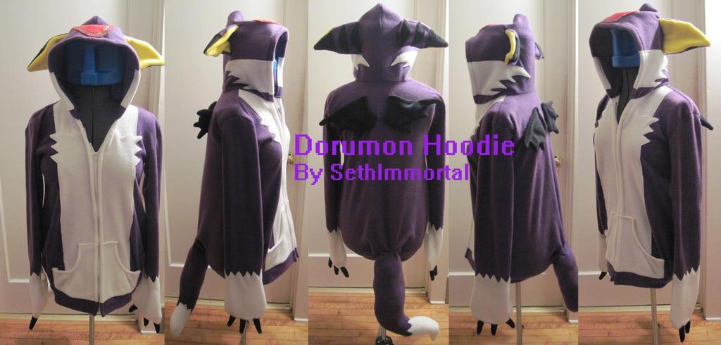 Dorumon Hoodie by SethImmortal