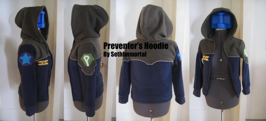 Gundam Wing Preventers Hoodie by SethImmortal