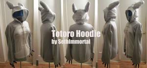 Totoro Hoodie by SethImmortal