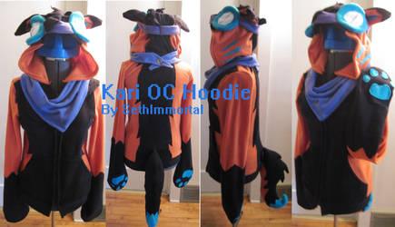 Kari OC Hoodie by SethImmortal
