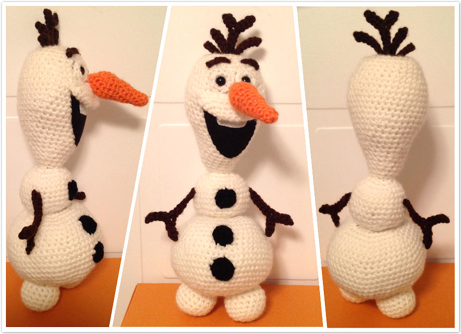 Snowman Hat 3+ Free Crochet Patterns sizes from Newborn to Adult | 670x925