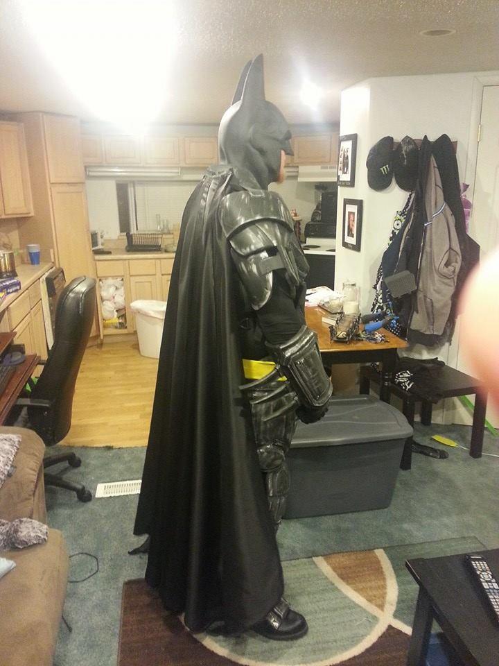 Batman Batsuit (side shot) by casey2099