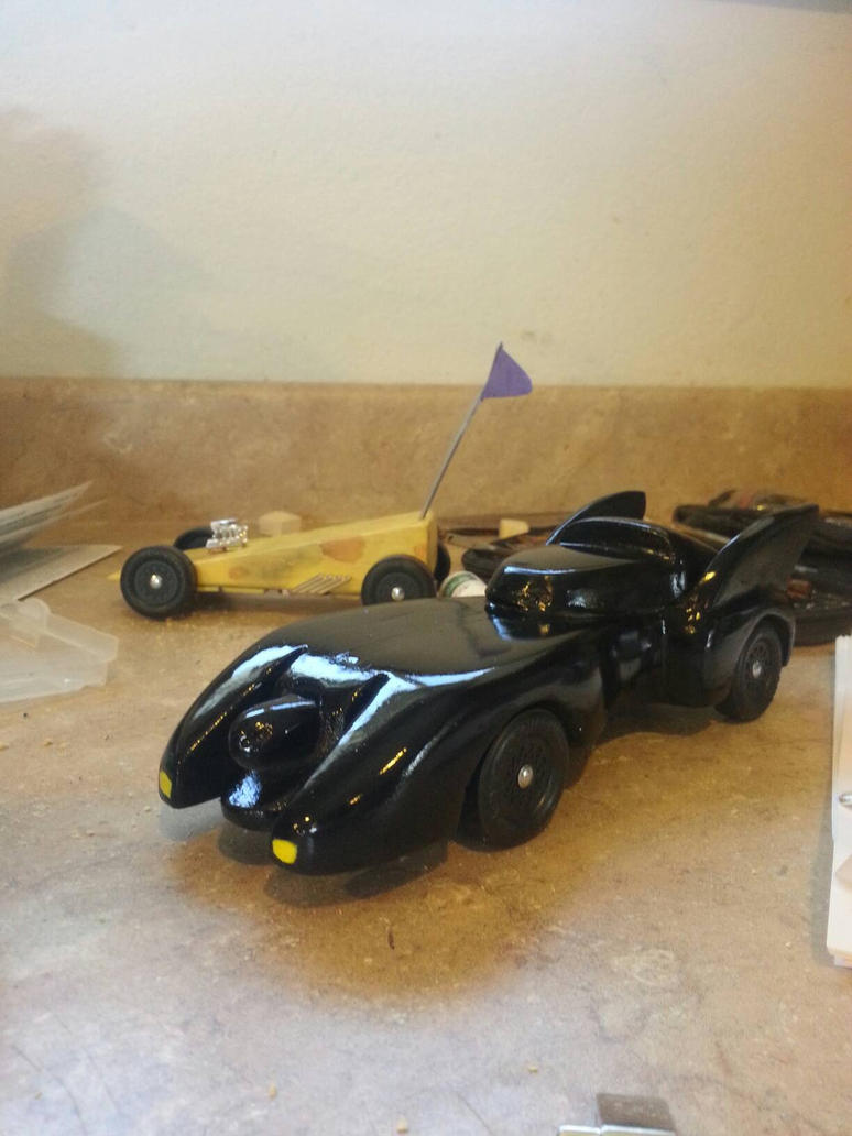 Pinewood Derby Car Batmobile by casey2099