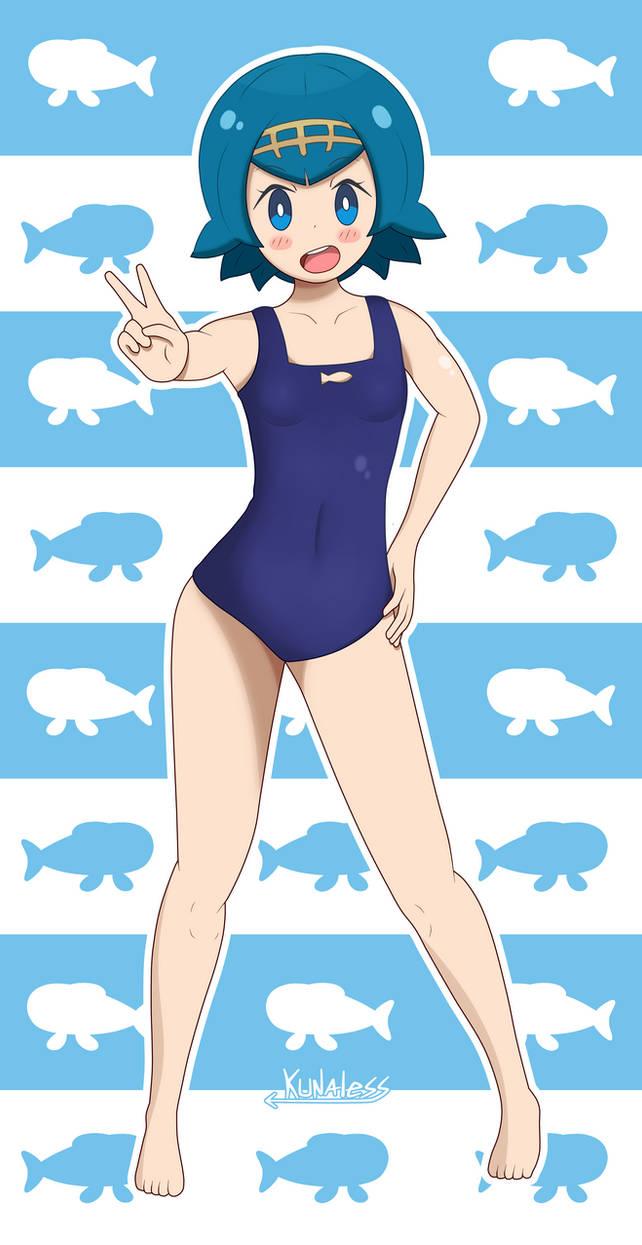 0d2f7b9b8324f Lana swimsuit - Pokemon Sun and moon by Kunaless on DeviantArt