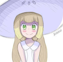 Lillie - Pokemon Sun and Moon by Kunaless