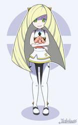 Loli Lusamine - Pokemon Sun and Moon by Kunaless