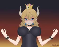 Princess Bowsette - New super Mario bros deluxe