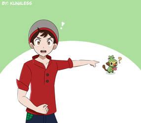 A Grookey! - Pokemon Sword and Shield