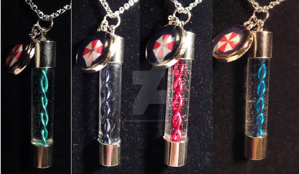 Resident Evil Virus Necklace