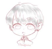 [[Comission SK] Chibi #1 by Saneofthetea