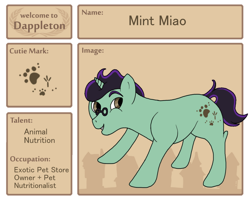 Dappleton | Mint Miao by Floral-Fire