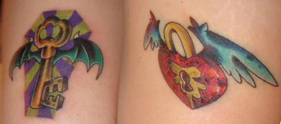 New tattoos for me and mine by Anvikit