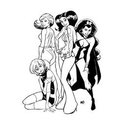 LEGION 70s angels by gianmac
