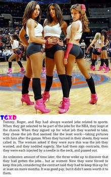 NBA Cheerleaders (Caption #31)