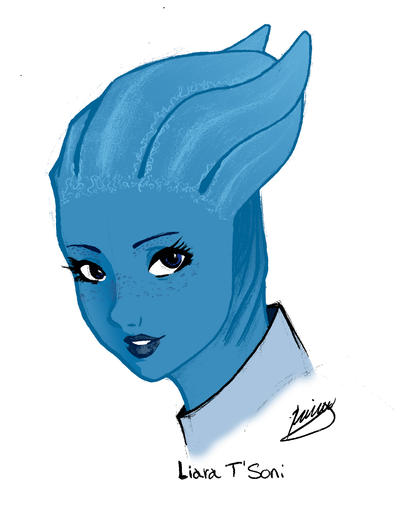 Liara T'Soni by kafeicl