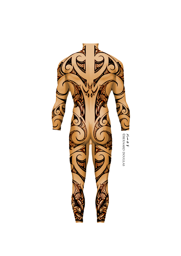Maori Body Art: BODY BY BERN-Z- MAORI MALE By Bern-Z On DeviantArt