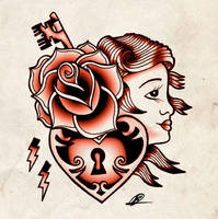 tattoo flash_red by Bern-Z