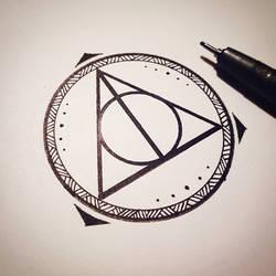 Triangle Mandala Tattoo