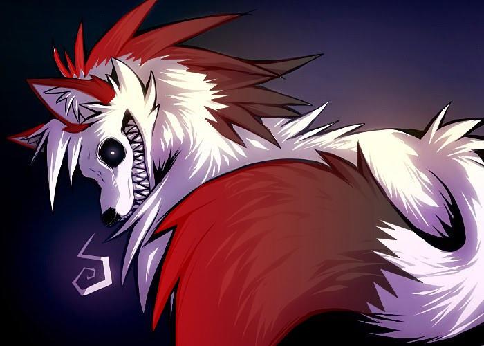 Demon wolf by Heinee-The-Wolf on DeviantArt - photo#10