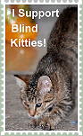I Support Blind Kitties-Stamp by SerenaAndMina