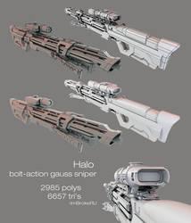 Halo Bolt Action Gauss Sniper by ImBrokeRU