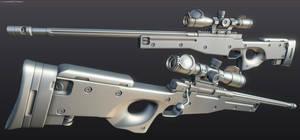 L96 Sniper WIP