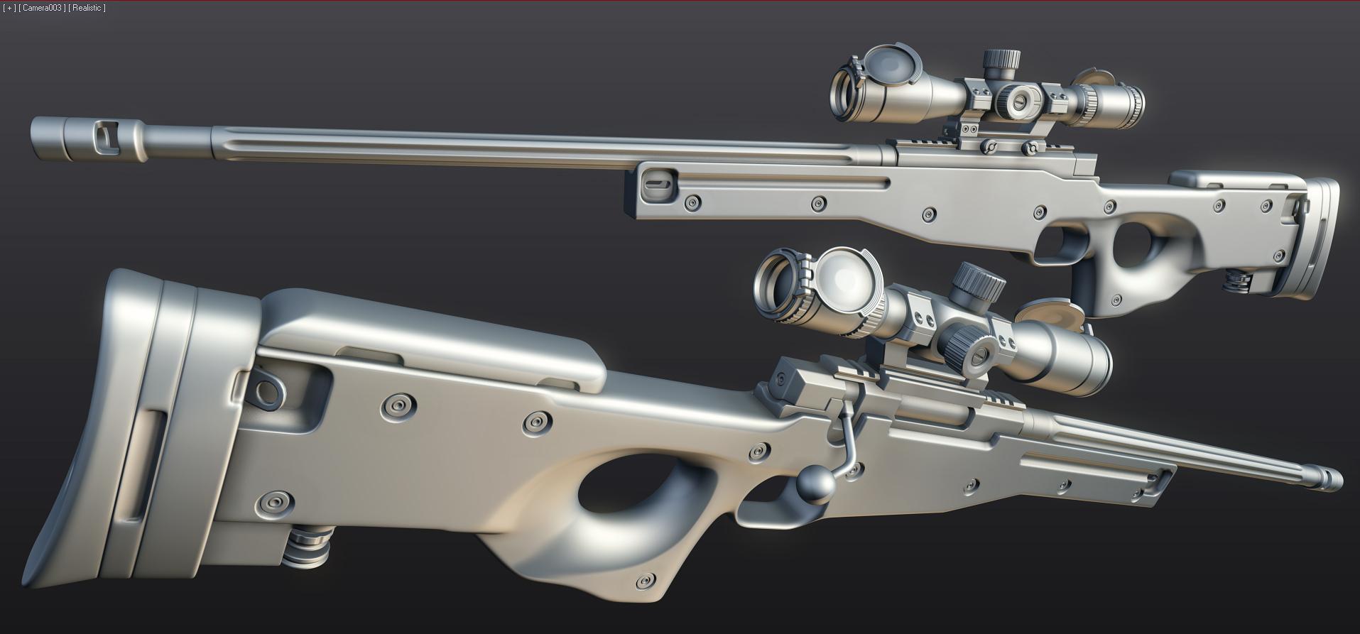 L96 Sniper WIP by ImBrokeRU