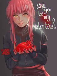 Be my valentine? by suzuia