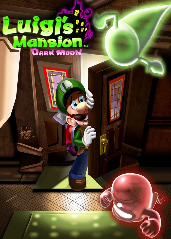 Luigi's-Mansion by manukongolo