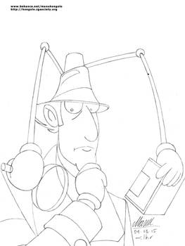 I is for Inspector Gadget