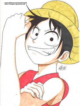 L is For Luffy