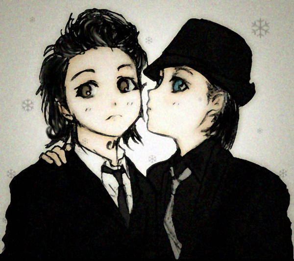 Gerard Way-Jared Leto by putrithewicked