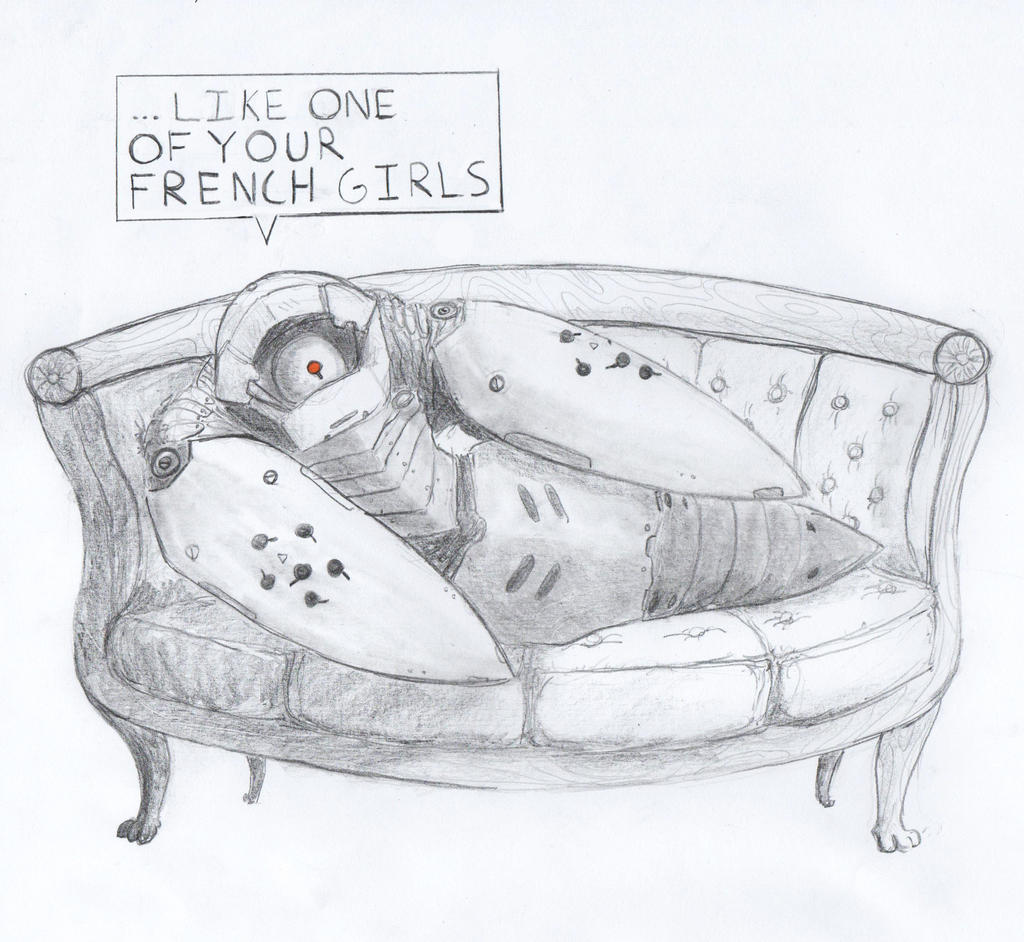 ...LIKE ONE OF YOUR FRENCH GIRLS