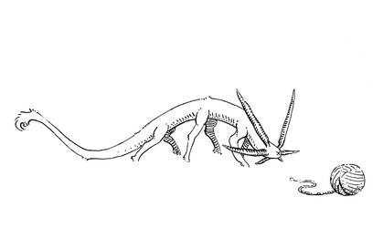 The Alien Cat by FoxyTomcat