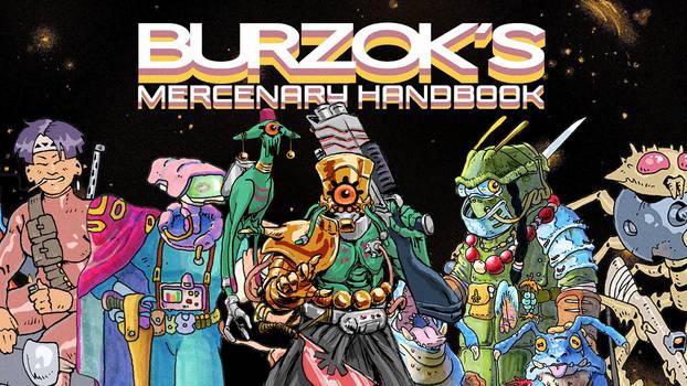 Burzok's Mercenary Handbook Announcement