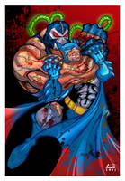 BATMAN Knightfall Color by ALEROGER