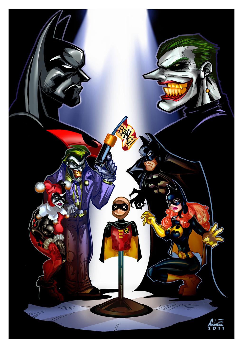 BATMAN BEYOND: Return of the Joker, color by ALEROGER