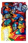 Reign of Supermen, color