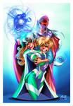 Magneto, color